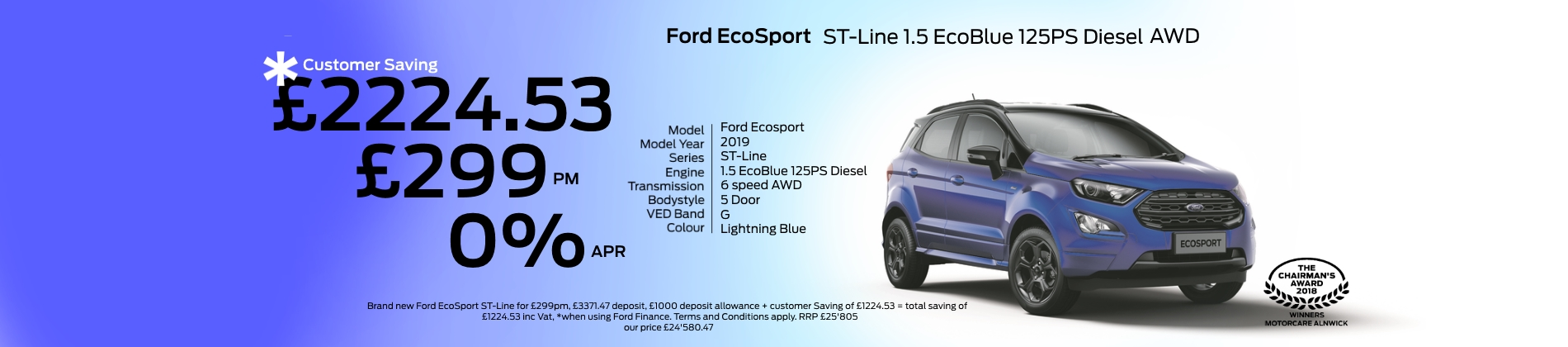 ford ecosport st