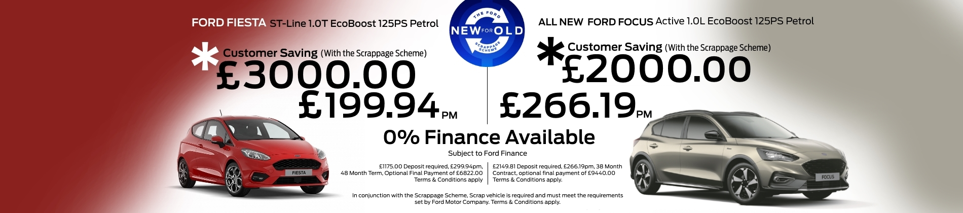 Ford Fiesta and Focus Offer